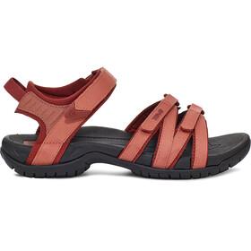 Teva Tirra Sandalen Dames, rood/zwart
